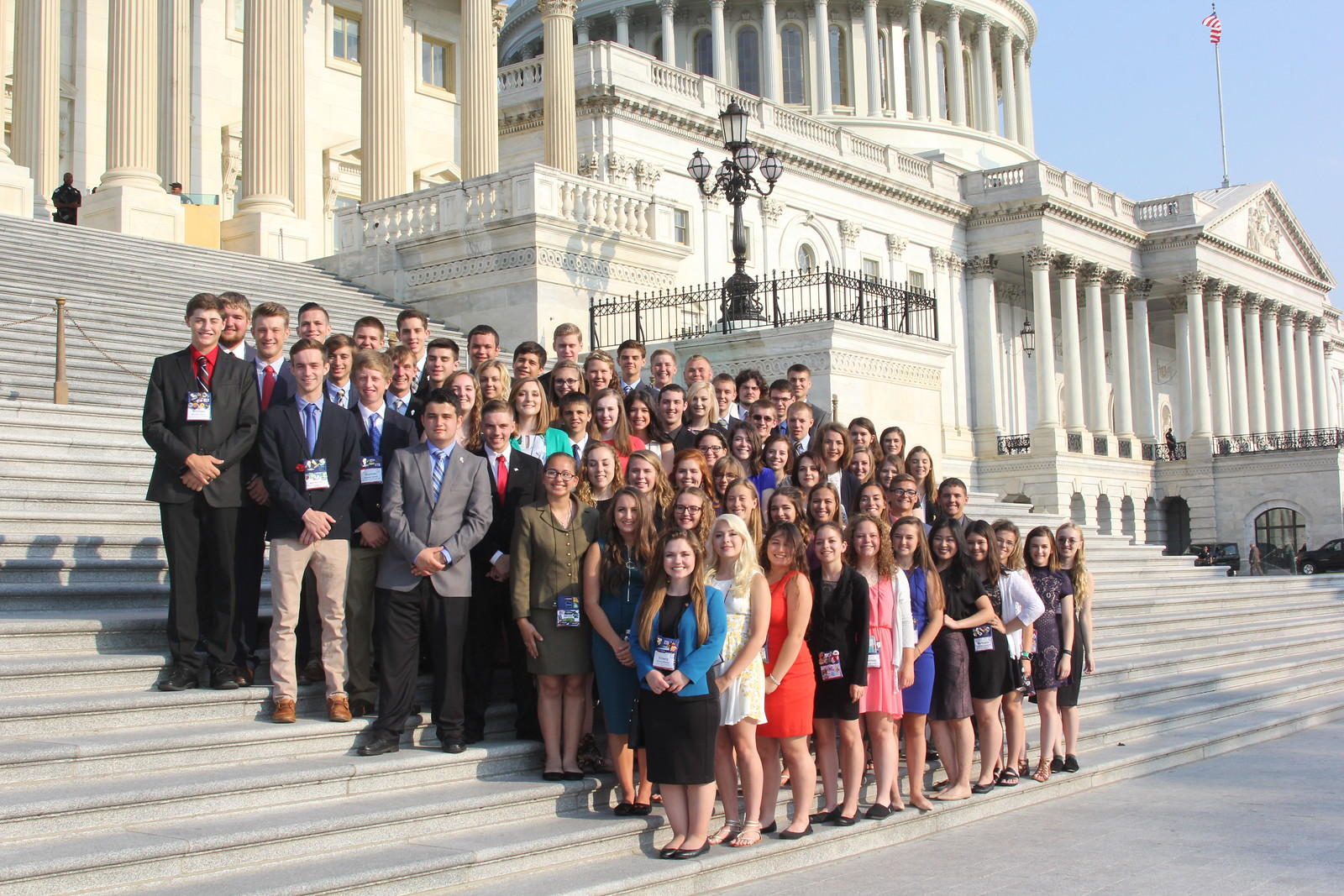 Youth Group on Capitol Hill