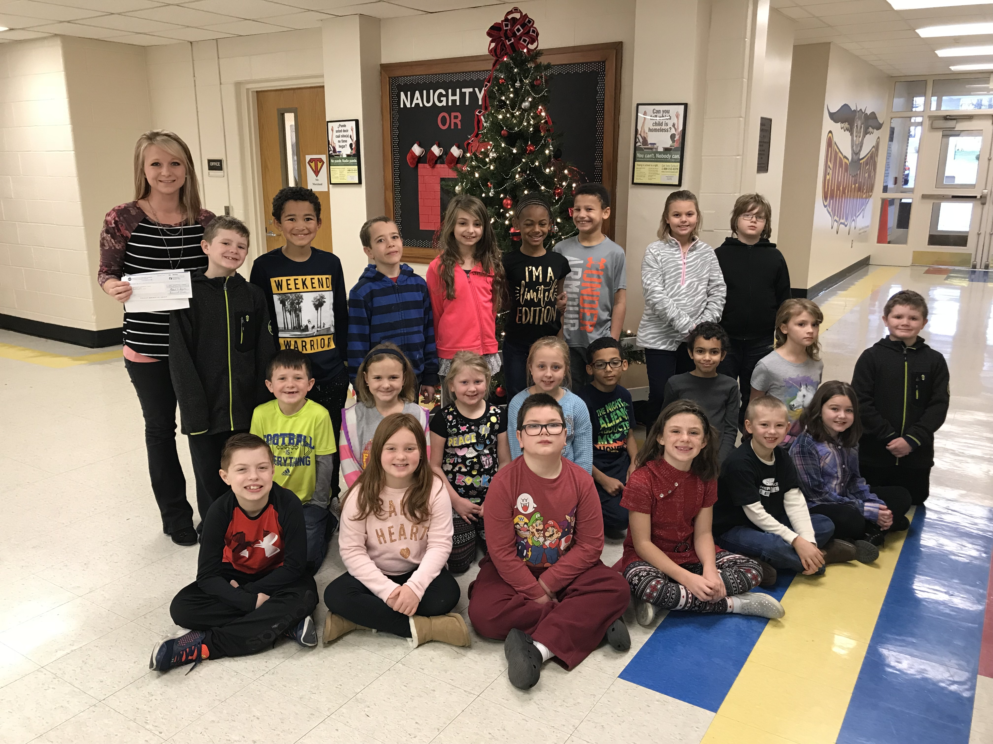 Reading for Success-3rd Grade Teacher, Jordan Suits of Carruthers Elementary School in Murphysboro