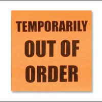 out of order icon