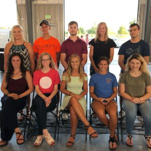 2019 Annual Meeting Scholarship Winners