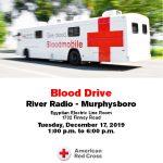 Blood Drive December 17