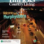 March Illlinois Country Living magazine cover