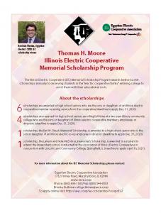 IEC Scholarship Announcement Information
