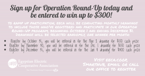 Operation Round Up 4Q Promotion